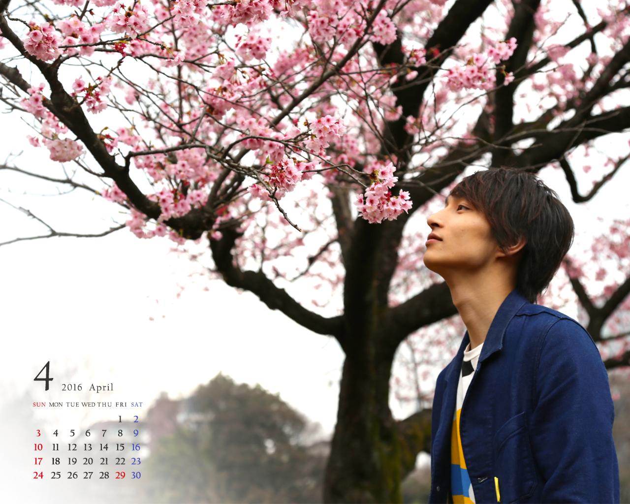 邑ser's guide 会員限定 壁紙(2016年4月カレンダー)