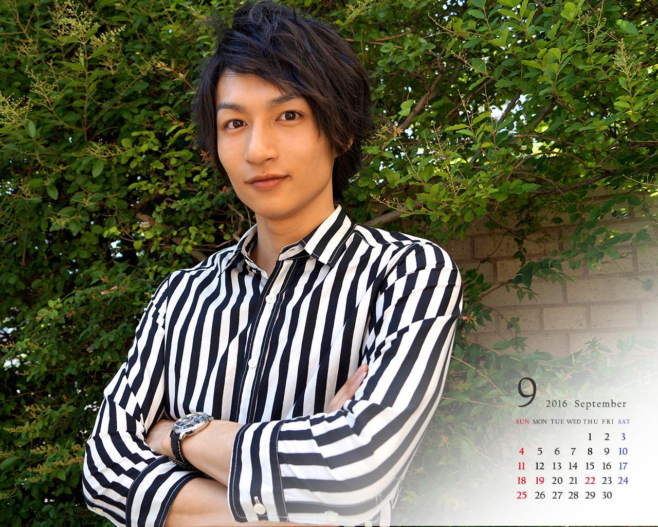 邑ser's guide 会員限定 壁紙(2016年9月カレンダー)